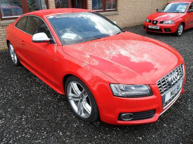 used audi s5 2008 petrol quattro 2dr 4 2 coupe red edition for sale in inveralmond place uk. Black Bedroom Furniture Sets. Home Design Ideas