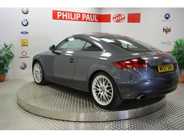 used audi tt 2007 grey colour petrol 3 2 v6 quattro 2 door. Black Bedroom Furniture Sets. Home Design Ideas