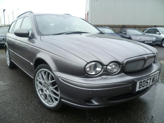 used jaguar x type 2007 diesel sovereign 5dr estate. Black Bedroom Furniture Sets. Home Design Ideas