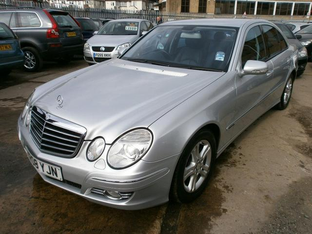 Used 2008 mercedes benz saloon class e220 cdi avantgarde for 2008 mercedes benz e class for sale
