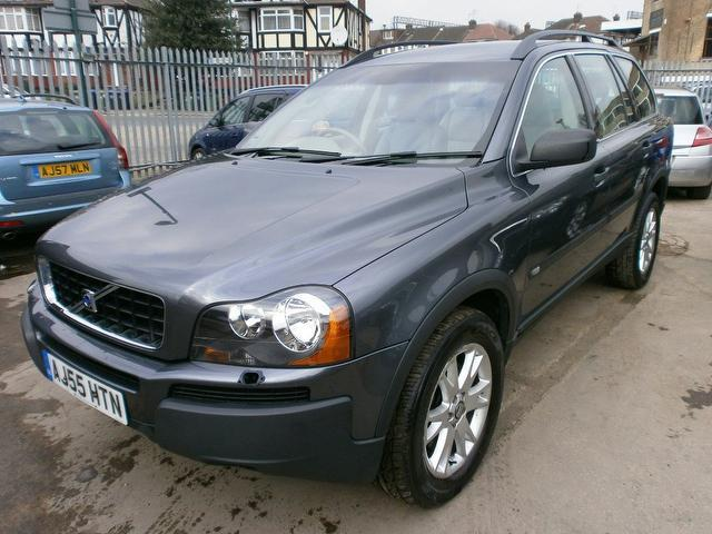 used volvo xc90 2005 model 2 9 t6 se 5dr petrol 4x4 grey for sale in wembley uk autopazar. Black Bedroom Furniture Sets. Home Design Ideas