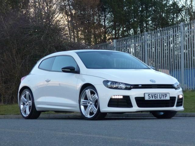 6f325ca0b4 Used Volkswagen Scirocco 2.0 Tsi R 3 Door Coupe White 2012 Petrol for Sale  in UK