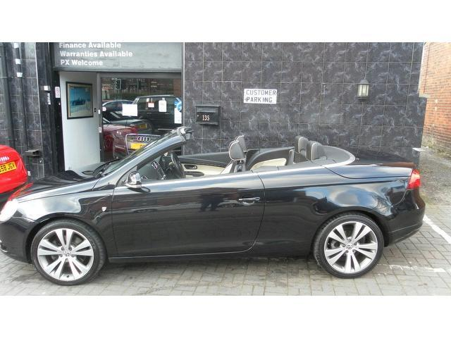 used black volkswagen eos 2007 diesel 2 0 tdi individual 2dr convertible in great condition for. Black Bedroom Furniture Sets. Home Design Ideas