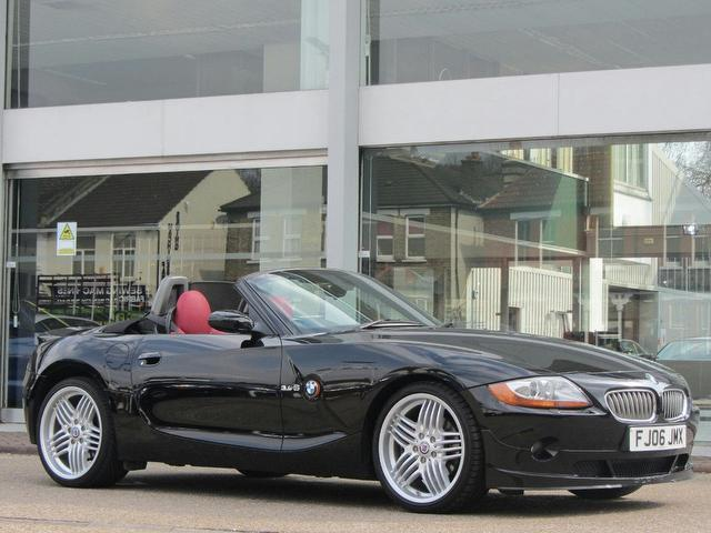 Used Bmw Z4 Car 2006 Black Petrol Alpina 3.4 Roadster S Convertible ...