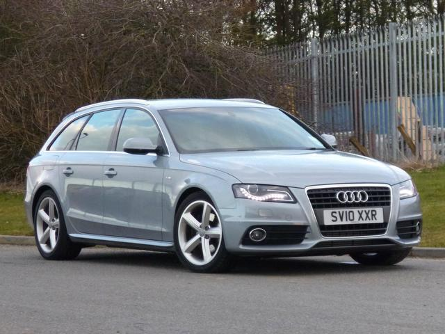 Used Audi A4 2010 Silver Estate Diesel Manual for Sale
