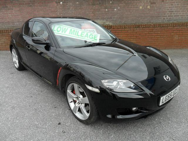 used mazda rx8 2005 petrol 4dr 192 1 3 coupe black with for sale autopazar. Black Bedroom Furniture Sets. Home Design Ideas