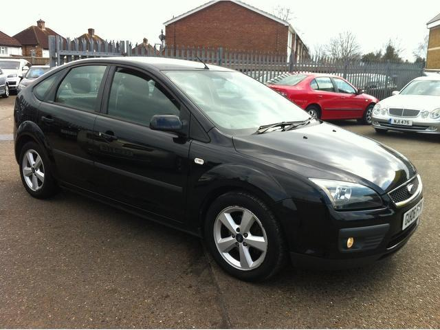 used 2006 ford focus hatchback black edition 1 6 zetec 5dr. Black Bedroom Furniture Sets. Home Design Ideas