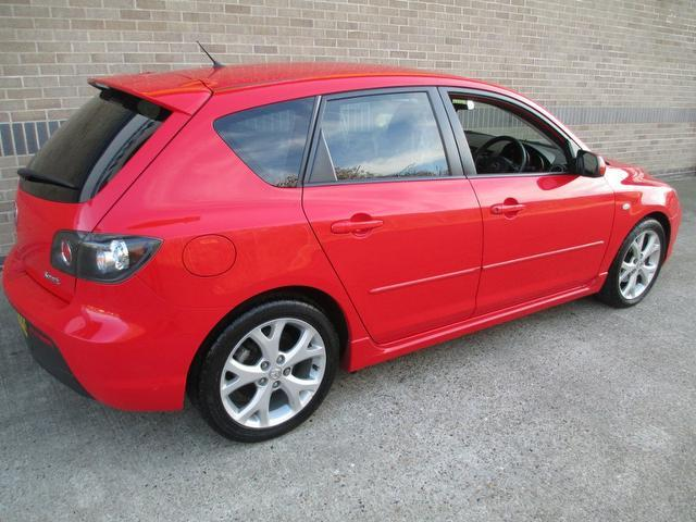 used red mazda mazda3 2008 petrol 1 6 sport 5dr hatchback excellent condition for sale autopazar. Black Bedroom Furniture Sets. Home Design Ideas