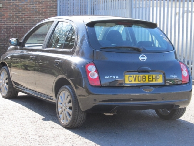 Used Nissan Micra  Black 2008 Petrol for Sale in UK