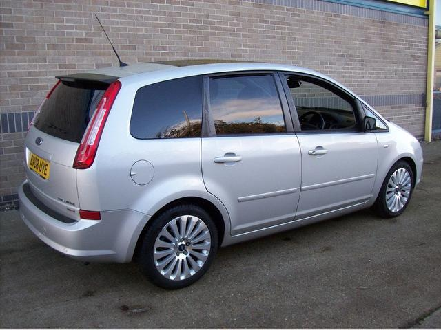 used silver ford c max 2008 diesel titanium x pack. Black Bedroom Furniture Sets. Home Design Ideas