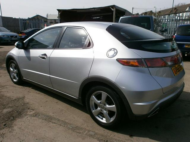 used honda civic 2006 petrol 1 8 i vtec se 5dr hatchback silver with traction control for sale. Black Bedroom Furniture Sets. Home Design Ideas