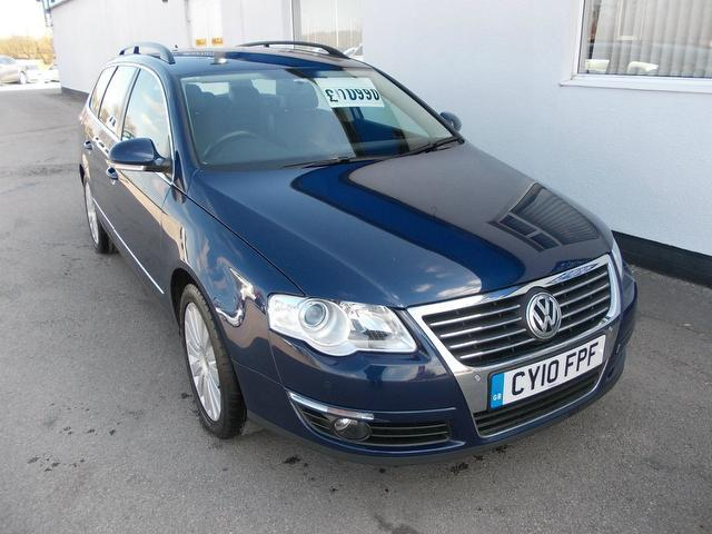 used volkswagen passat 2010 model 2 0 highline plus tdi diesel estate blue for sale in wirral uk. Black Bedroom Furniture Sets. Home Design Ideas