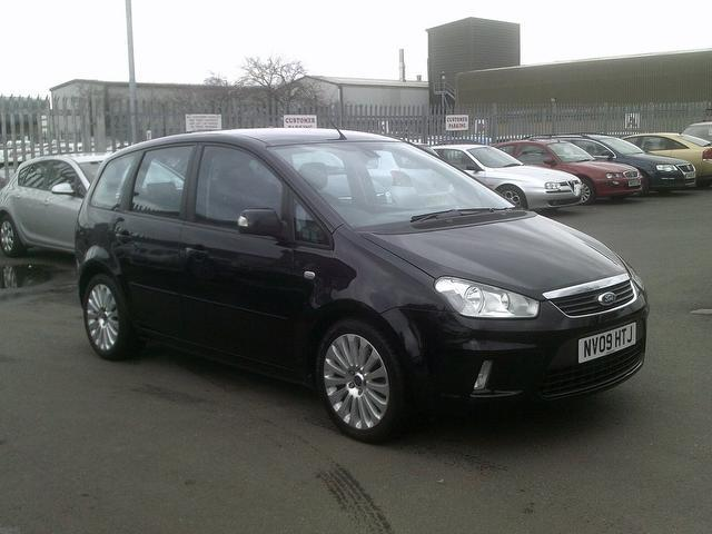 used ford c max 2009 black colour diesel titanium 5 door estate for sale in fengate uk. Black Bedroom Furniture Sets. Home Design Ideas