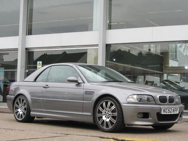 Used Bmw M3 2003 Grey Convertible Petrol Manual for Sale