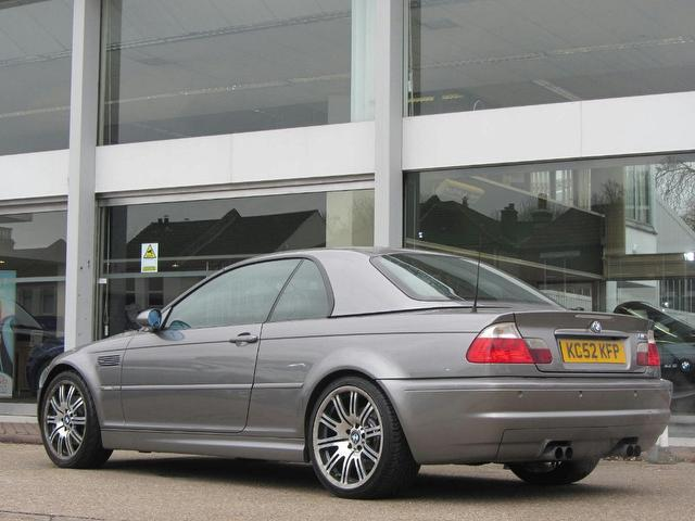 Used Bmw M3 2 Door Individual With Hard Convertible Grey 2003 Petrol for Sale in UK