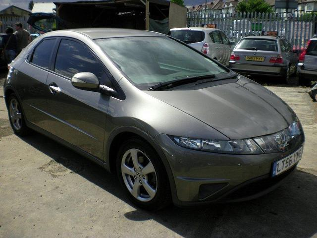Used honda civic 2006 petrol 1 8 i vtec se 5dr hatchback for Used hondas for sale