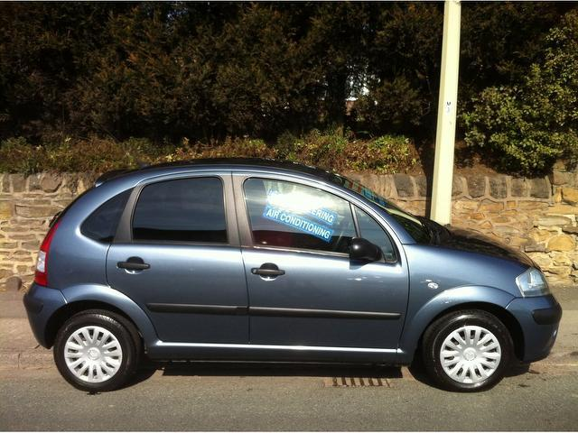 used citroen c3 2008 grey colour petrol cool 5 door hatchback for sale in stoke on trent uk. Black Bedroom Furniture Sets. Home Design Ideas