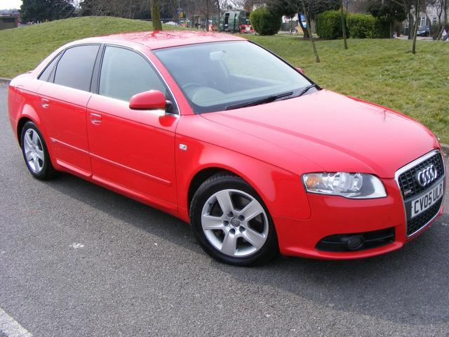 used audi a4 2005 petrol fsi quattro s saloon red with sports seats for sale autopazar. Black Bedroom Furniture Sets. Home Design Ideas