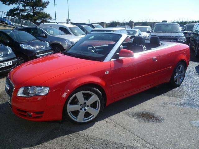 Used Audi A4 2007 Red Paint Diesel 2 0 Tdi S Line