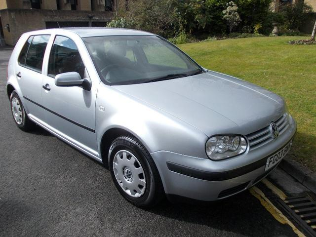 used volkswagen golf 2003 petrol 1 6 se 5dr hatchback silver with airbag for driver sale autopazar. Black Bedroom Furniture Sets. Home Design Ideas