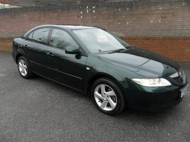 used mazda mazda6 2002 petrol 2 0 ts2 5dr hatchback green with alarm device for sale autopazar. Black Bedroom Furniture Sets. Home Design Ideas