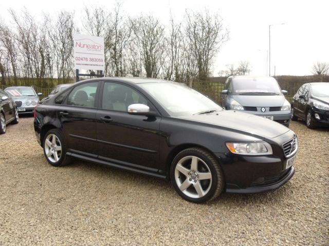 Used Volvo S40 2008 Black Paint Diesel 1 6d R Design Sport