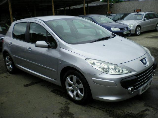 Cars Under 3000 For Sale >> Used Peugeot 307 2007 Petrol 1.6 S 5dr Auto(full Hatchback Silver Automatic For Sale In Wembley ...