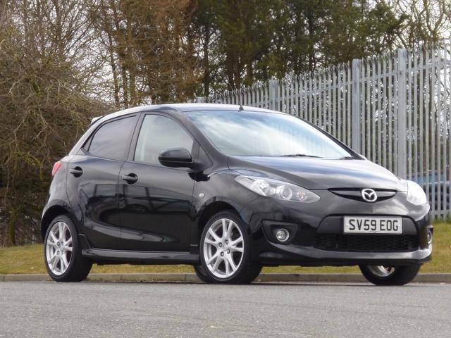 used mazda mazda2 2009 black paint diesel sport 5dr hatchback for sale in turrif uk autopazar. Black Bedroom Furniture Sets. Home Design Ideas