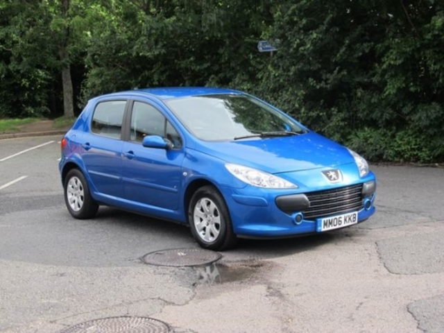 used peugeot 307 2006 petrol blue automatic for sale in epsom uk autopazar. Black Bedroom Furniture Sets. Home Design Ideas