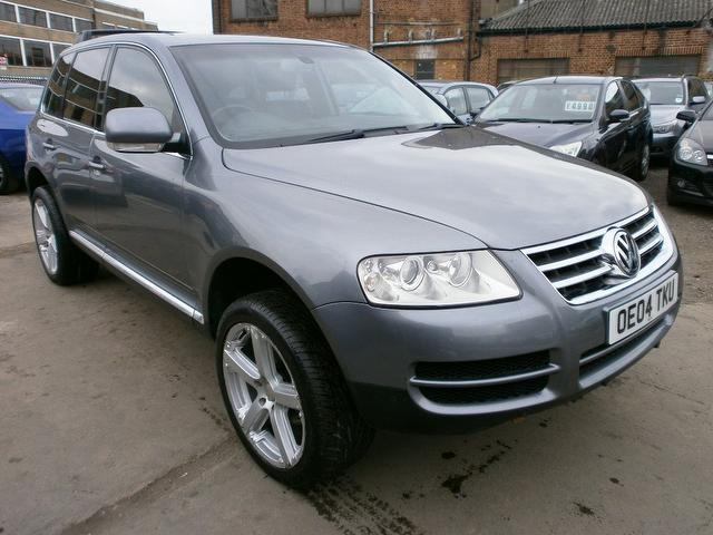 used 2004 volkswagen touareg 4x4 grey edition 2 5 tdi 5dr. Black Bedroom Furniture Sets. Home Design Ideas