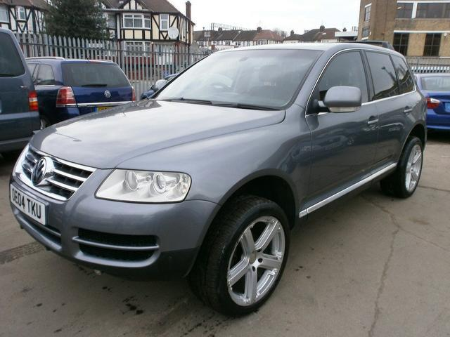 Used Cars For Sale Under 6000 >> Used 2004 Volkswagen Touareg 4x4 Grey Edition 2.5 Tdi 5dr Auto Diesel For Sale In Wembley Uk ...