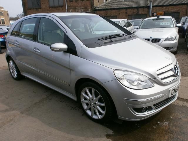 used silver mercedes benz 2007 petrol class b170 se 5dr hatchback excellent condition for sale. Black Bedroom Furniture Sets. Home Design Ideas