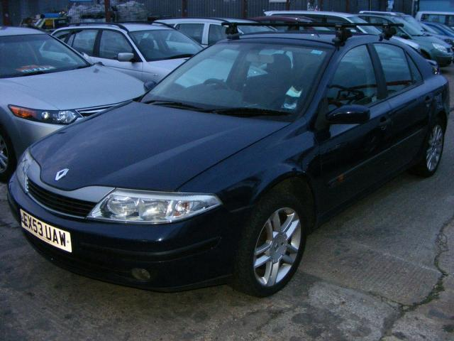 Used Renault Laguna 1.8 16v Extreme 5 Door/2 Hatchback Blue 2003 Petrol for Sale in UK