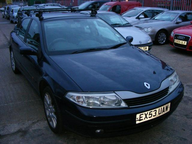 Used Renault Laguna 2003 Blue Hatchback Petrol Manual for Sale