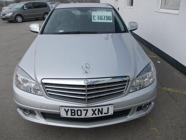 Used silver mercedes benz 2007 diesel class c220 cdi for Used mercedes benz sale
