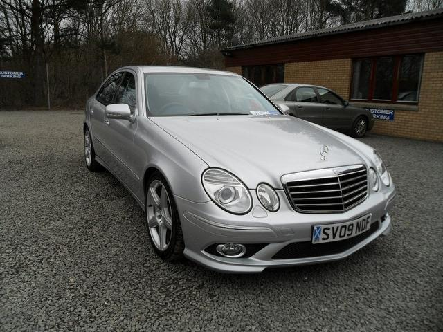 used mercedes benz 2009 diesel class e320 cdi sport saloon silver edition for sale in. Black Bedroom Furniture Sets. Home Design Ideas