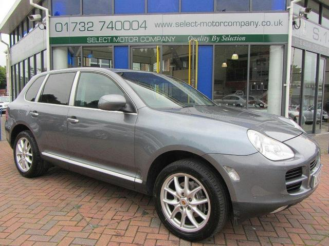 Used Porsche Cayenne 2004 Grey 4x4 Petrol Automatic for Sale