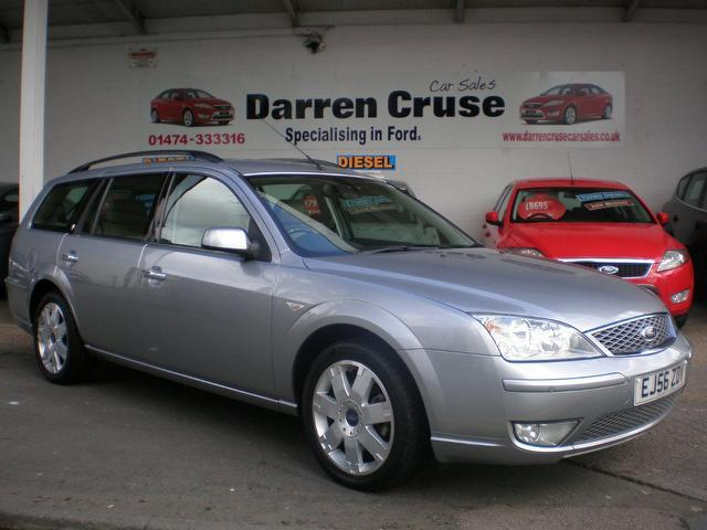 used ford mondeo 2006 petrol 2 0 ghia x 5dr estate silver. Black Bedroom Furniture Sets. Home Design Ideas