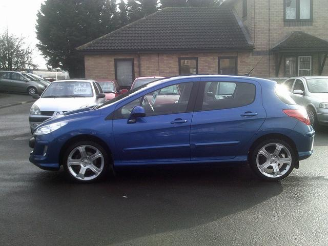 used peugeot 308 2010 manual diesel 1 6 hdi 110 sport blue for sale uk autopazar. Black Bedroom Furniture Sets. Home Design Ideas