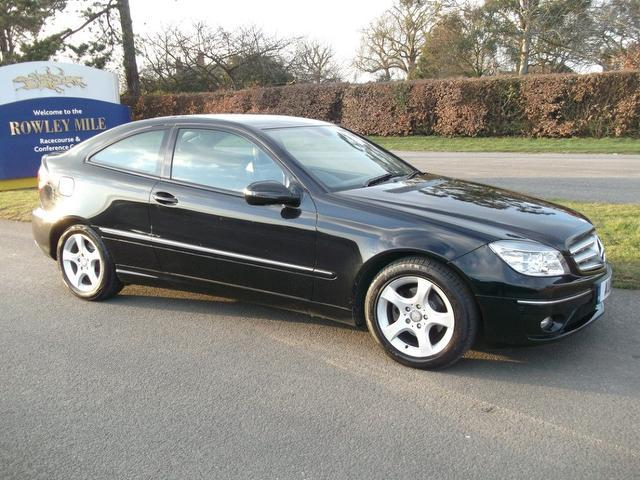 Used Mercedes Benz 2008 Black Coupe Diesel Manual for Sale