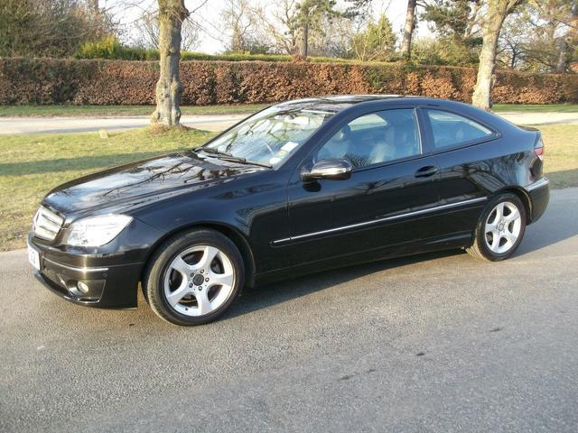Used Mercedes Benz Class 220 Cdi Se Coupe Black 2008 Diesel for Sale in UK