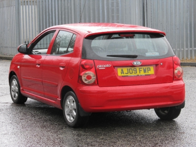 used kia picanto 2009 unleaded red with for sale autopazar. Black Bedroom Furniture Sets. Home Design Ideas