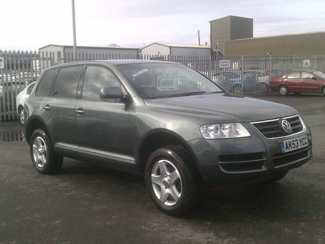 used volkswagen touareg for sale under 8000 autopazar. Black Bedroom Furniture Sets. Home Design Ideas