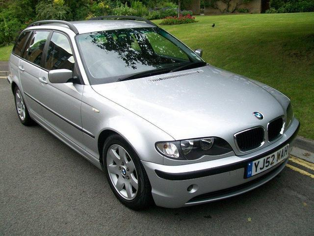 used bmw 3 series 2002 petrol 318i se 5dr estate silver manual for sale in keynsham uk autopazar. Black Bedroom Furniture Sets. Home Design Ideas