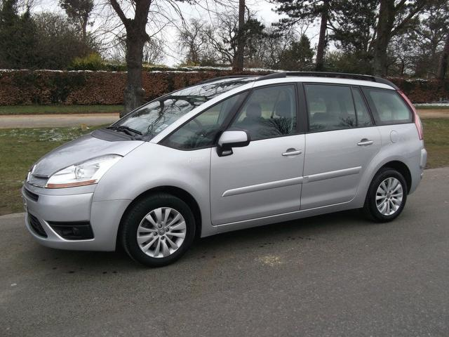 used 2009 citroen c4 estate silver edition grand picasso 2. Black Bedroom Furniture Sets. Home Design Ideas