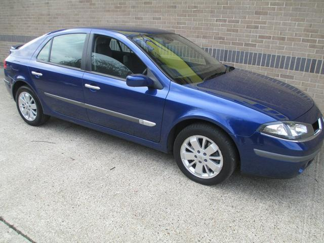 Used Renault Laguna 2006 Blue Hatchback Petrol Automatic for Sale