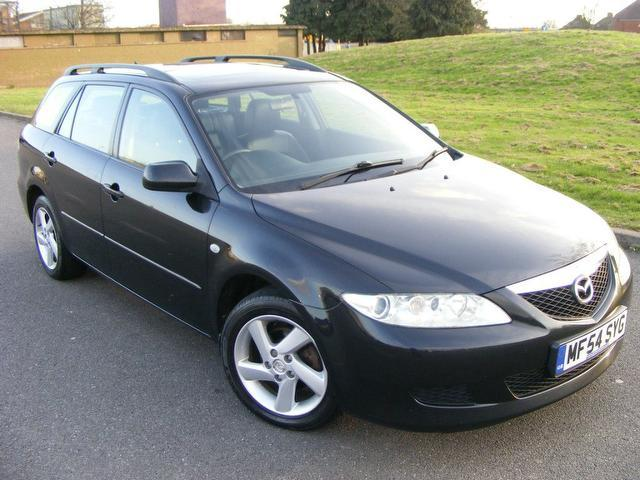 used mazda mazda6 2004 diesel ts2 136 5dr estate black with car immobiliser for sale. Black Bedroom Furniture Sets. Home Design Ideas