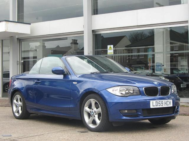 Used Bmw 1 Series Convertible for Sale UK - Autopazar