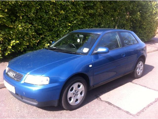 used audi a3 2002 blue paint petrol 1 6 se 3dr hatchback for sale in keynsham uk autopazar. Black Bedroom Furniture Sets. Home Design Ideas