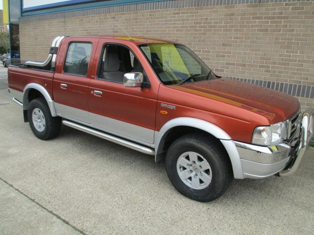 used ford ranger 2004 diesel 2 5d xlt cab orange edition for sale in norwich uk autopazar